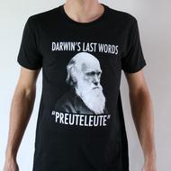 "Preuteleute - Black ""Darwin"" T-shirt"
