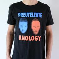 """Preuteleute - Black """"Anology"""" T-shirt"""